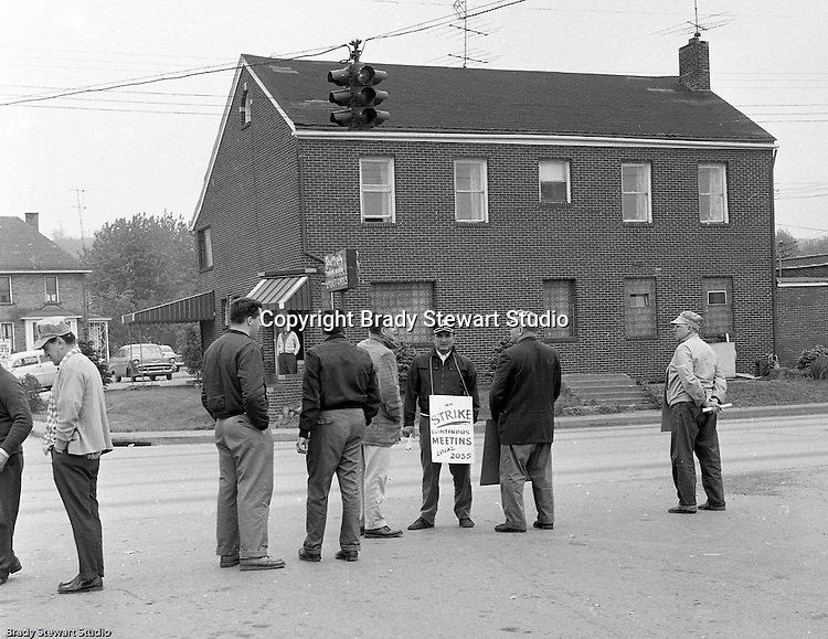 Conway PA: A dispute over an unfair scope rule and a job classification clause in a Pennsylvania Railroad contract had been simmering for more than three years when TWU decided it was time to take action. At 12:01 a.m., on September 1, 1960 picket-lines surrounded the company, creating the first strike against the Pennsylvania Railroad in its 114-year history.  <br /> At the time, the Conway railroad yard was the largest in the world.