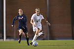 16 November 2012: UNC's Summer Green (6) is chased by Illinois' Nicole Breece (11). The University of North Carolina Tar Heels played the University of Illinois Fighting Illini at Fetzer Field in Chapel Hill, North Carolina in a 2012 NCAA Division I Women's Soccer Tournament Second Round game. UNC won the game 9-2.