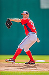 11 March 2013: Washington Nationals pitcher Stephen Strasburg on the mound during a Spring Training game against the Atlanta Braves at Space Coast Stadium in Viera, Florida. The Braves defeated the Nationals 7-2 in Grapefruit League play. Mandatory Credit: Ed Wolfstein Photo *** RAW (NEF) Image File Available ***