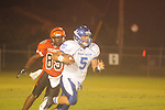 Water Valley's E.J. Bounds (5) vs. Calhoun City in Calhoun City, Miss. on Friday, August 31, 2012.