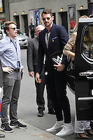 NEW YORK, NY - JUNE 27: Kevin Love visits The Late Show With Stephen Colbert on June 27, 2016 in New York City. Credit: Diego Corredor/Media Punch