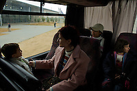 Erez Crossing, Jan 2, 2009.Approximatively 300 foreign nationals, mainly women and children were allowed by Israel to leave Gaza on humanitarian gounds; they were met at the crossing by representatives of their respective consulates. When a Palestinian rocket launch has been detected. After several weeks of total closure, Israel has launched its most important military operation ever in the Gaza strip, following Hamas' refusal to extend the 6 months truce.