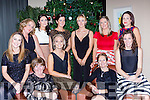 Kerry staff with their colleagues from Macroom Garden Centre at the Christmas party in the Brehon Hotel on Friday night front row l-r: Louise Masters, Annette O'Sullivan, Noelle O'Riordan, Martina Lynch Killarney, Ruth Collins. Back row: Mary Curtin Kenmare, Carmel Nash Killarney, Muireann McCarthy, Catherine McCarthy, Triona Collins and Sinead Radley