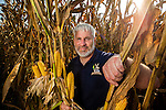 Commissioned work for Progressive Farmer Magazine<br /> <br /> Randy Dowdy inspects his corn crop before starting the day's harvest near Valdosta, Ga August 6, 2014.