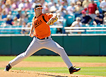 5 March 2006: Cory Morris, pitcher for the Baltimore Orioles, on the mound during a Spring Training game against the Washington Nationals. The Nationals defeated the Orioles 10-6 at Space Coast Stadium, in Viera Florida...Mandatory Photo Credit: Ed Wolfstein..
