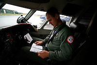 Capt.  Thomas Knudsen, second pilot.  DA-20 Jet Falcon, 717 squadron, Royal Norwegian Air Force. BOLD AVENGER 2007 (BAR 07), a NATO  air exercise at Ørland Main Air Station, Norway. BAR 07 involved air forces from 13 NATO member nations: Belgium, Canada, the Czech Republic, France, Germany, Greece, Norway, Poland, Romania, Spain, Turkey, the United Kingdom and the United States of America. The exercise was designed to provide training for units in tactical air operations, involving over 100 aircraft, including combat, tanker and airborne early warning aircraft and about 1,450 personnel.