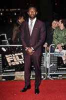 LONDON, ENGLAND. October 6, 2016: Trevante Rhodes at the London Film Festival premiere for &quot;Moonlight&quot; at the Embankment Gardens Cinema, London.<br /> Picture: Steve Vas/Featureflash/SilverHub 0208 004 5359/ 07711 972644 Editors@silverhubmedia.com