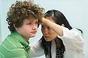 Children's Physicians, Jupiter, Fl. Patient, release 20120522007, left, Jocelyn Hu, class of 2014.