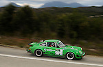 #643 - John Ireland &amp; Michael Ribot - 1977 Porsche 911 Carrera 3.Day 4.Targa Tasmania 2010.1st of May 2010.(C) Joel Strickland Photographics.Use information: This image is intended for Editorial use only (e.g. news or commentary, print or electronic). Any commercial or promotional use requires additional clearance.