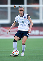 Becky Sauerbrunn.  The USWNT defeated Brazil, 4-1, at an international friendly at the Florida Citrus Bowl in Orlando, FL.