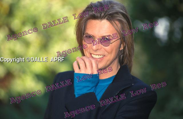 David BOWIE<br /> 1999<br /> Crédit: DUBOIS / Dalle