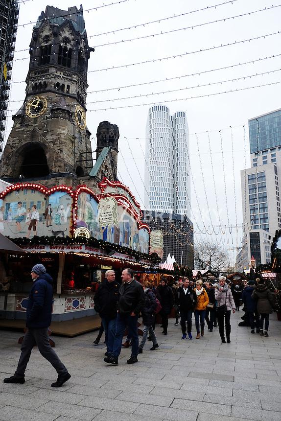 Berlin Christmas market - Breitscheidplatz