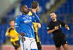 St Johnstone v Livingston.....30.11.13     Scottish Cup 4th Round<br /> Nigel Hasselbaink reacts after missing a sitter<br /> Picture by Graeme Hart.<br /> Copyright Perthshire Picture Agency<br /> Tel: 01738 623350  Mobile: 07990 594431