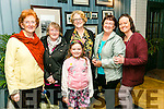At the Tralee Rugby Club  Fundraising Cookery Demo by Mark Doe at the Ashe Hotel on Friday were Avril O Shea, Rose Burke, Ruth Kelter, Carmel Ryan, Pamela Teahan and Katie Teahan