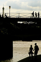 Under the Pont des Arts, Paris, 2005