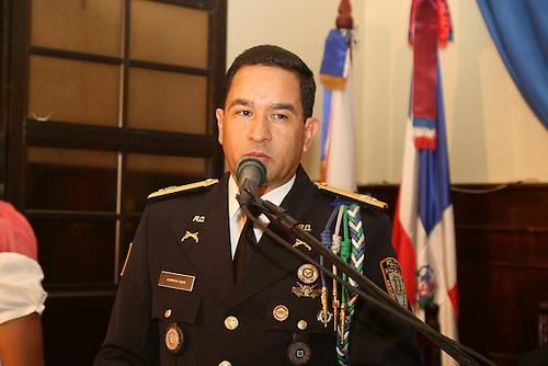 Jefe del Comando Cibao Central de la Policía Nacional, general de brigada Eduardo Alberto Then