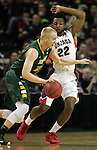 North Dakota State Gonzaga during the 2015 NCAA Division I Men's Basketball Championship's March 20, 2015 at the Key Arena in Seattle, Washington.   ©2015. Jim Bryant Photo. ALL RIGHTS RESERVED.