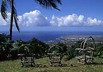 Holualoa view towards Kona Coast