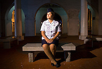 FAYETTEVILLE, N.C, Aug. 6 - Airman First Class Cassandra Hernandez, 20 of Houston, Texas, says she was raped by three enlisted airmen after a party on May 13, 2006 at Pope Air Force Base. She is now facing charges of &quot;indecent acts with another&quot; and &quot;underage drinking.&quot; .&quot;I did everything I was told to do in that situation, and the system failed me,&quot; she says. .Hernandez claims that she originally decided not to testify against the men because she was emotionally traumatized and wanted to move on with her life but will not admit to indecent acts. Her court martial is scheduled for September 24th at Pope Air Force Base. (James J. Lee / Military Times)