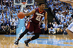 18 January 2015: Virginia Tech's Jalen Hudson. The University of North Carolina Tar Heels played the Virginia Tech University Hokies in an NCAA Division I Men's basketball game at the Dean E. Smith Center in Chapel Hill, North Carolina. UNC won the game 68-53.