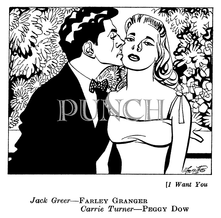 .I Want You : Farley Granger and Peggy Dow..