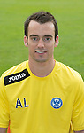 St Johnstone FC 2013-14<br /> Alan Lochtie, Assistant Physio<br /> Picture by Graeme Hart.<br /> Copyright Perthshire Picture Agency<br /> Tel: 01738 623350  Mobile: 07990 594431