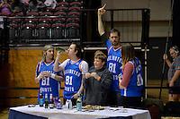 Action from the NBL Final Four - Saints v Giants at TSB Bank Arena, Wellington, New Zealand on Friday 4 July 2014. <br /> Photo by Masanori Udagawa. <br /> www.photowellington.photoshelter.com.