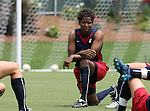 29 July 2006: Briana Scurry (USA). The United States Women's National Team trained at SAS Stadium in Cary, North Carolina, in preparation for an International Friendly match against Canada to be played on Sunday, July 30.