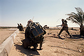 Southern Iraq<br /> March 1, 1991<br /> <br /> The 1st Cavalry goes house to house clearing an area of southern Iraq of Iraqi soldiers and ammunition for the 24th Division.