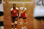 Oxford High vs. Lafayette High in volleyball action at OHS in Oxford, Miss. on  Thursday, September 30, 2010.