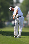 May 8,2011 - Pat Perez second shot on ten.  Lucas Glover wins the tournament in sudden death over Jonathan Byrd at Quail Hollow Country Club,Charlotte,NC.