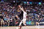 DALLAS, TX - MARCH 31:  Erica McCall #24 of the Stanford Cardinal drives for a basket during the 2017 Women's Final Four at American Airlines Center on March 31, 2017 in Dallas, Texas. (Photo by Justin Tafoya/NCAA Photos via Getty Images)