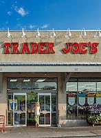 Exterior of Trader Joe's specialty food store, Ardmore, Pennsylvania, USA