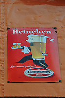 Ushuaia Street Scenes - Enamel Advertising.