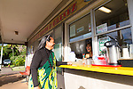 Mana'e Goods & Grindz on the island of Molokai, Hawaii, USA