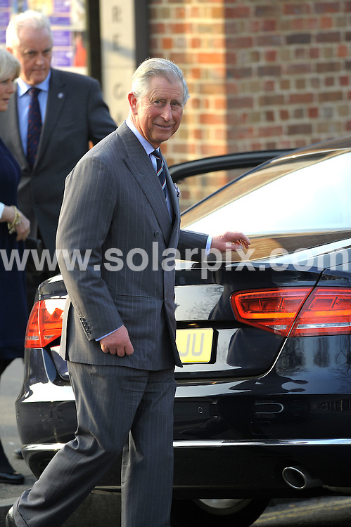 **ALL ROUND PICTURES FROM SOLARPIX.COM**                                             **WORLDWIDE SYNDICATION RIGHTS**                                                                                  Royal visit to Dulwich Picture Gallery..The Prince of Wales, accompanied by Camilla, Duchess of Cornwall and Catherine, Duchess of Cambridge, arrives to see the work of The Prince's Foundation for Children and the Arts at Dulwich Picture Gallery, London.                                                                            This pic:   The Prince of Wales                                                                                     JOB REF:   14570     MSR       DATE:   15.03.12                                                         **MUST CREDIT SOLARPIX.COM OR DOUBLE FEE WILL BE CHARGED**                                                                      **MUST AGREE FEE BEFORE ONLINE USAGE**                               **CALL US ON: +34 952 811 768 or LOW RATE FROM UK 0844 617 7637**