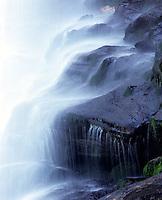 Dry Falls waterfall near Highlands, North Carolina