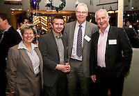 From left are Bev Cook of BGB Advisory, James Ward of Howard Ward Associates, Jo Warsop of Hacker Young and Parry Leggatt of Cockburn Lucas