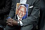 De Blassio attends a Mandela Tribute in Harlem