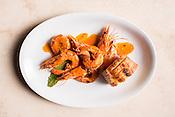Durham, North Carolina - Monday September 23, 2015 - BBQ Shrimp.