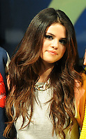 Selena Gomeat  fashion show  ADIDAS NEO