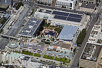aerial photograph Moscone Convention Center Zeum childrens museum San Francisco California
