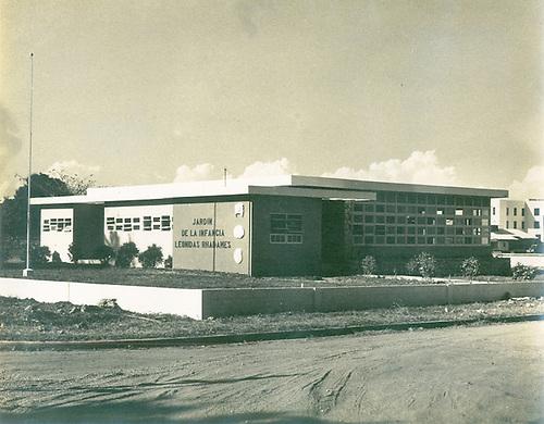 Jardin de la Infancia Leonidas Rhadamés. Plan Bienal de Construcciones 1950-1952. © AGN