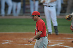 Georgia coach David Perno in a college baseball action at Oxford-University Stadium in Oxford, Miss. on Friday, April 8, 2011. Georgia won 9-8.