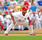 14 March 2007: St. Louis Cardinals first baseman Albert Pujols in the action against the Washington Nationals at Roger Dean Stadium in Jupiter, Florida...Mandatory Photo Credit: Ed Wolfstein Photo