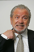 Sir Alan Sugar, Chairman of Viglen Ltd, unveils new High Performance Computer Cluster at Queen Mary, University of London at the College's Mile End Campus.