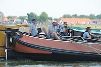 ZEILEN: STAVOREN: IJsselmeer, 26-07-2014, SKS skûtsjesilen, winnaar Drachten, skûtsje Twee Gebroeders, schipper Jeroen Pietersma, ©Martin de Jong
