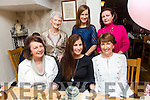 Diane Wheelan enjoying her hen Night with friends and family at Bella Bia's on Friday Front l-r Marie Porter, Diane Whelan, Ester Murphy. Back l-r Hannah O'Regan, Mags Quillinan and Margaret Whelan