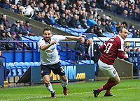 Bolton Wanderers' Filipe Morais gets away from Northampton Town's Matthew Taylor<br /> <br /> Photographer Alex Dodd/CameraSport<br /> <br /> The EFL Sky Bet League One - Bolton Wanderers v Northampton Town - Saturday 18th March 2017 - Macron Stadium - Bolton<br /> <br /> World Copyright &copy; 2017 CameraSport. All rights reserved. 43 Linden Ave. Countesthorpe. Leicester. England. LE8 5PG - Tel: +44 (0) 116 277 4147 - admin@camerasport.com - www.camerasport.com