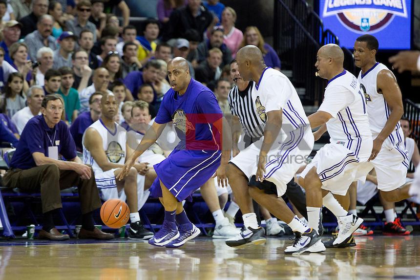 The UW alumni basketball game on Sunday June 23, 2013 ...